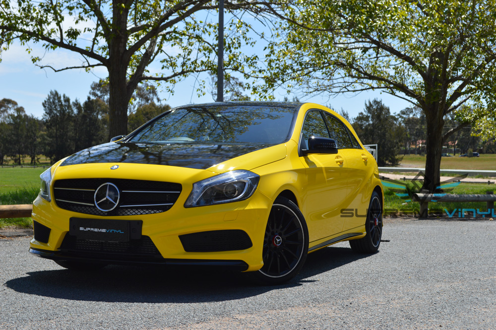 Yellow A45 Canberra