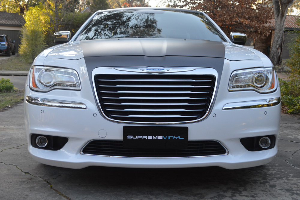 Wrapped Chrysler 300c