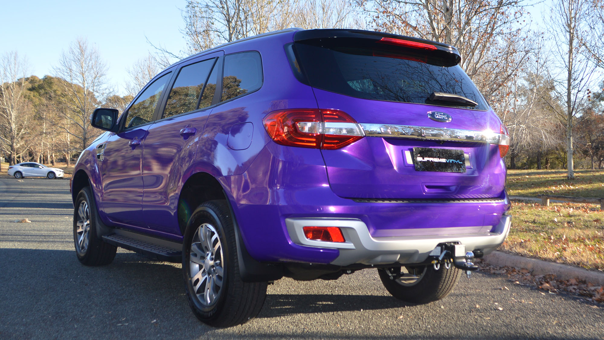 Wrapped ford everest